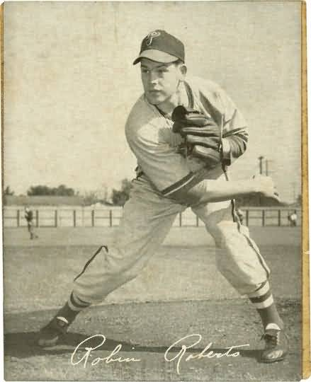 1949 Sealtest Dairy Phillies Robin Roberts